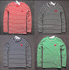 Free Shipping STRIPED MEN WOMEN COMME DES GARCONS CDG PLAY RED HEART T-SHIRT TEE