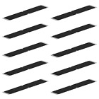 Aluminium Decking Steps Non Anti Slip Grip Stairs Board Plates 10 Pack