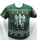 Star Wars Ugly Christmas Sweater (look) T-Shirt Stormtroopers Boys (L,XL) #A8163