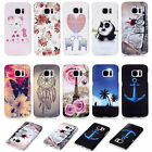 Various Patterns Slim PC Hard Phone Protector Back Case Cover Skin For Samsung