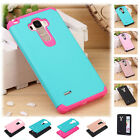 Hybrid ShockProof Hard Protective Case Cover For LG G Stylo LS770 & G4 Stylus US