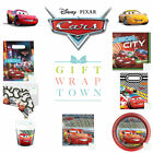 DISNEY CARS PARTY SUPPLIES LIGHTENING MCQUEEN MATER NEON PARTY BOYS PARTYWARE