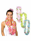 Hawaii Blütenkette Kette Sunrise bunt Hawaiiparty Beachparty Karibische Nacht