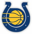 Indiana Indianapolis Fan Colts Pacers Fan Vinyl Sticker Decal on eBay