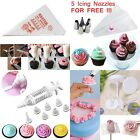 4 Sets Icing Piping Nozzle Pastry Tips Disposable Bag Cake Cream Decorating Mold