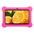 7'' HD Quad Core Tablet PC Android 4.4 Dual Camera WiFi 8GB For Kids Gift Bundle