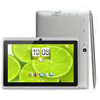 Quad Core 7'' HD Tablet 8GB Android 4.4 Dual Camera WiFi Bundle for Kids Gift
