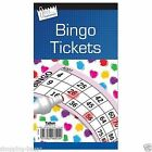 600 BINGO BOOKS pads flyers single ticket card games100 sheets security coded X1