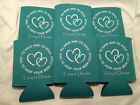 Custom Wedding Koozies Design 4521 25 to 300 Personalized party favors