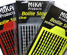 MIKA Products Boilie Stops 100 Stk - Boilie-Stopper, Hair-Stopper, Karpfen, Rig