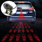 Car Truck Motorcycle Anti-Collision Rear Tail Fog Driving Laser Caution Light