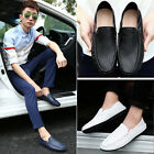 Men's Driving Shoes PU Breathable Slip-on Loafer Moccasins Soft Casual Shoes