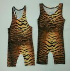 NEW YOUTH WRESTLING SINGLET TIGER-TANK & RAZORBACK NWOT