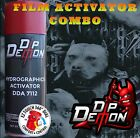 PITBULL PIT BULL HYDROGRAPHIC WATER TRANSFER FILM ACTIVATOR COMBO KIT HYDRO DIP