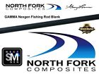 "North Fork Composites By Gary Loomis LMX-Gamma Mag Bass Cast Rod Blank 6'6""-7'3"""