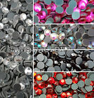 GRADE A DMC HOTFIX IRON ON GLASS RHINESTONES DIAMOND GEMS DECORATION CRAFT BEAD