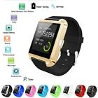 Bluetooth Smart Phone Mate Wrist Watch For Android IOS Samsung HTC SONY LG New