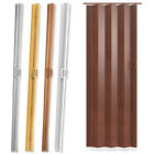 Folding Sliding Door PVC Wet Room Divider Internal Separator Bathroom Privacy