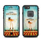Skin for LifeProof FRE iPhone 6/6S - God Bless The Freaks - Sticker Decal