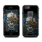 Skin for LifeProof FRE iPhone 6/6S - Necronaut - Skull - Steampunk Sticker Decal