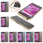 For SONY XPERIA X Performance Metal Frame Case Aluminum Alloy Bumper Cover Skin