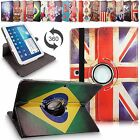For Samsung Galaxy Tab 3 10.1 P5200 Leather 360 Rotating Flip Stand Case Cover