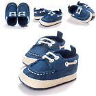 Casual Newborn Baby Boy Girl Kids Soft Sole Laces Sneaker Toddler Crib Shoes