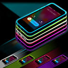 LED Flash Light UP Remind Incoming Call Cover Back Case For iPhone SE 6 6s Plus
