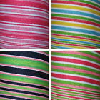 "7/8"" Summer Grosgrain Stripes 5 Yds, 6 Colors Avail"