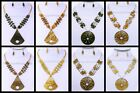 Coconut Shell Fashion Necklace & Earring Set - Costume Jewelry Wholesale - USA