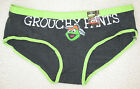 NEW Sesame Street Juniors Panties Oscar the Grouch Charcoal Gray Grouchy Pants