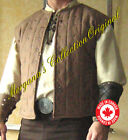 Medieval Armor Short Sleeveless Squire Gambeson Studded