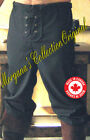 Medieval Celtic Viking Barbarian Pants (front Laces)