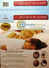"Soft BED BUG MATTRESS PROTECTOR ~ Fits up to 15"" High Tensile Fabric ~ Washable"