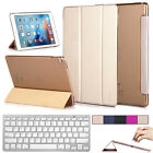 "Ultra Slim Magnetic Leather Smart Cover Case For Apple iPad Pro 9.7"" w/ Keyboard"