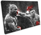 Mike Tyson Boxing Grunge Sports SINGLE CANVAS WALL ART Picture Print