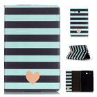 For Samsung Galaxy Tab T280 T550 T560 Painted Shockproof Case PU Leather Cover