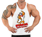 TONY THE TIGER T-BACK BODYBUILDING VEST WORKOUT GYM CLOTHING H-70