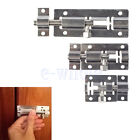 SLIDE BOLT LOCK BATHROOM TOILET SHED DOOR LOCK/CATCH/LATCH SMALL TO LARGE EW