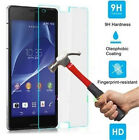2X 9H Premium Tempered Glass Film Screen Protector For Sony Xperia Z2 Z3 M5 2016