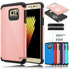 US Shockproof Hybrid Rubber Armor Defender Case Cover for Samsung Galaxy Note 7