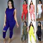New Women Ladies Clubwear Hollowed Playsuit Dress Party Jumpsuit Romper Trousers