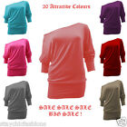 Off Shoulder Womens Blouse Top Ladies Casual Shirt SUMMER Loose SEXY Sale