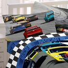 NASCAR BED SHEET SET - Bump Drafting Race Car Racing Bedding Accessories