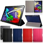 PU Leather Smart Flip Case Cover Stand For Lenovo Tab 2 A10-70 Tab 2 A10-30 X30F