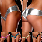 New Sexy Women Plus Size Artifical Leather Look Underwear Lingerie Panties M-6XL