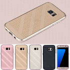 Luxury Ultra Slim Metal Bumper Hard Back Case Cover For Samsung Galaxy S7 edge