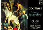 FRANCE CLASSICAL LP COUPERIN : LECONS DE TENEBRES : WILLIAM CHRISTIE ORGUE