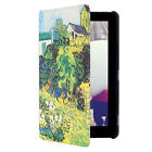 Pattern Slim Leather Smart Cover Stand Folio Case For Amazon Kindle Fire 7 HD 8