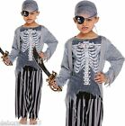 Boys Zombie Ghost Dead Pirate Halloween Fancy Dress Costume Ages 4-6 7-9 10-12